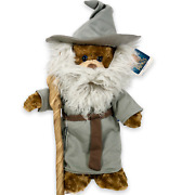 Build A Bear Lord Of The Rings Bear Gandalf Gift Set Hat Beard Robe And Staff Nwt