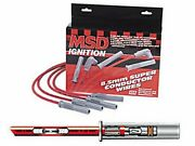 Msd 31199 Universal Spark Plug Wires 8.5mm Cylinder Super Conductor Multi-angle