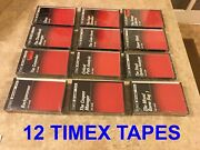 12 Timex Sinclair Ts1000 Zx81 Software Cassettes - New In Original Shrink Wrap