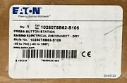 Eaton 10250t5b62 S105 Emergency Electrical Disconnect Pushbutton Station Push