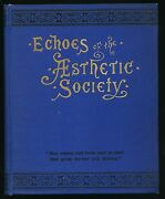 Echoes Of The Aesthetic Society Of Jersey City 1882 Nj Culture 19th Century