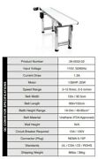 Fda Approved Twister Trimmer T2/t4 Inspection Conveyor Belt System Used