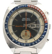 Seiko Chronograph Day-date Speed Timer Sports 5 Steel 40mm Watch Ref 6139-6022