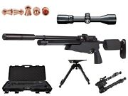 Air Arms S510xs Take Down Air Rifle Tactical Model .22 Cal W/ Bushnell Scope New