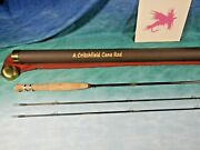 Critchfield 6and039-6 4wt 2pc/2tip Bamboo Fly Rod New Cane 466-2