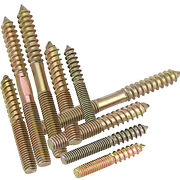 M6m8 Double Thread Screws Wood Hanger Bolts Dowel Self-tapping Screw Zinc-plated