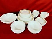 Vintage Corelle Butterfly Gold Service Set For 12 Complete 75 Total Pieces New