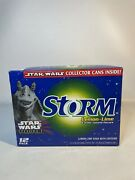 Super Rare Star Wars Pepsi Storm 12 Pack---collectible Empty Cans