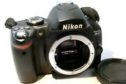 Nikon D40 6mp Digital Slr Camera Body Only With Accessories - Mint Condition