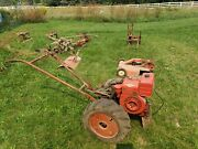 1949 / 1950 Simplicity Model M Walk Behind Tractor With Implements