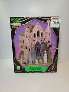 Lemax Spooky Town Gothic Ruins 65342 Complete With Plug Retired