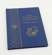 1962 Seattle Worlds Fair Century 21 Exposition Silver Collection - Free Ship Us