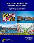 Maryland Real Estate License Exam Prep All-in-one Review And Testing Paperback