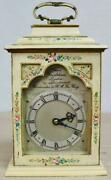 Beautiful Antique English Charles Frodsham 8 Day Hand Painted Carriage Clock
