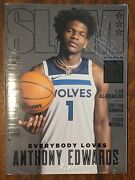 Limited Metal Editions Slam Magazines /60 - Anthony Edwards + Jalen Green Rc