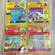Lot Of 4 My First Leap Pad Jay Jay Bob The Builder Dr.seuss All Sealed And New