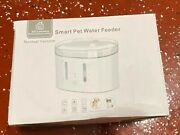 Automatic Smart Pet Water Feeder Wifi Mobile Phone Control Water Fountain  X