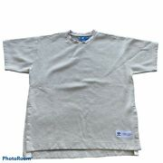 Adidas Originals Brand With 3 Stripes Cr8 Bonded Mesh T-shirt Pullover Size Xl