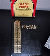 Kjv Holy Bible Giant Print Reference Bible With Concordance. Gift Sleeve. Nelson
