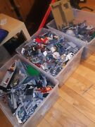 Huge Genuine Lego Bulk Lot Collection Star Wars Indiana Jones Approx 70 Pounds