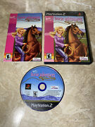 Barbie Horse Adventures Wild Horse Rescue Sony Playstation 2 Not Working