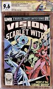 Vision And The Scarlet Witch 1 Cgc 9.6 Custom Thor Label 1982 Signed By Olsen