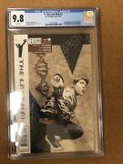 Y The Last Man 1 Cgc 9.8 White Pages 2002 Brian K. Vaughan Pia Guerra
