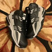Nike Air Trainer Sc High Bo Jackson Black And Grey Raiders 2017 Sneakers Size 9.5