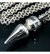 Chrome Hearts Ginza Store With Invoice Spike Xl Ne Chain Necklace 20 Inch _69207
