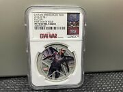 2016 Fiji Marvel Civil War Falcon Ngc Pf70 1st Day Of Issue