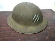 3rd Infantry Division Ww1 Doughboy Helmet Us Military