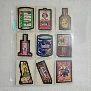 1974 Topps Wacky Packages Series 9 Complete Set 29 Cards + Puzzle Set