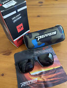 Peppers Dividend Polarized Sunglasses Matte Black To Shiny Tortoise Fade
