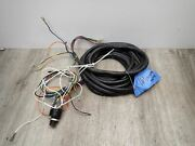 Force Chrysler Outboard 16 Ft Rigging Wiring Harness 8 Wire W/ Key Switch 2