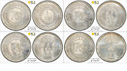 Egypt , Fao Set 1, 5, 10 And 100 Pounds 2015 Pcgs Ms 67 Extremelly Rare Only One