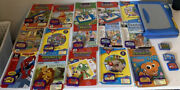 Huge Leap Frog Lot 15 Read, Writing, Math Books + Leap Pad Plus Writing And Pen