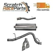 Corsa Exhaust System Dual Side Exit For Chevy/gmc/cadillac 304 Ss Cat-back 14749