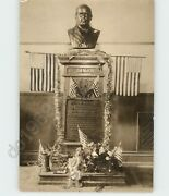 Bust Of President William Mckinley @ Post Office Statues 1909 Press Photo