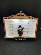 Mr. Christmas Maestro Mouse The Lights And Sounds Of Christmas Musical 24 Carols