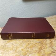 Scarce Ryrie Esv Study Bible Red Letter Genuine Leather Like New Rare L@@k🌟