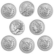 2021 Morgan And Peace Dollar Complete Set Presale Unopened Confirmed