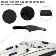 3 Bow Bimini Top Replacement Canvas Cover Boat 6ft Without Frame 600d Waterproof