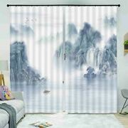 Worry Cost Patronage 3d Curtain Blockout Photo Printing Curtains Drape Fabric