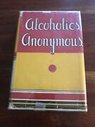 Alcoholics Anonymous First Edition 14th Printing Original Dust Jacket