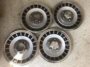 '80-'96 Ford Bronco F-100 F-150 4x4 15 Inch Wheel Covers/hubcaps Set Of 4 Oem