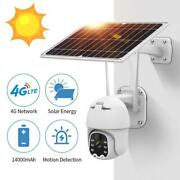 1080p 4g Solar Powered Wireless Security Wifi Camera Outdoor Ptz Human Detection