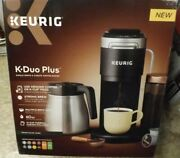 Keurig K-duo Plus Coffee Maker Single Serve Compatible With K-cup Pods New