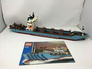 Lego 10152 Maersk Sealand Container Ship 2004 Edition W/ Instructions Pleas Read