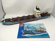Lego 10155 Maersk Line Container Ship 2010 Edition With Instructions Please Read