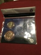 George H.w. And Barbara Bush 2020 Presidential 1 Coin And First Spouse Medal Set